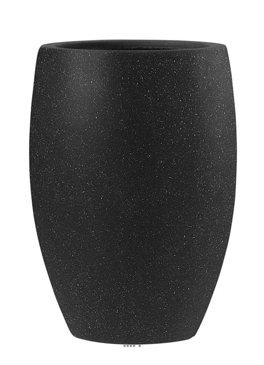 Bac fibre de verre teras bullet bas noir ext du site pas cher garantie 10 ans - Jardinieres fibre de terre exterieur ...